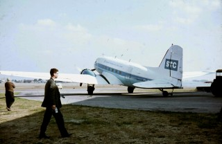 DC3 at Stansted