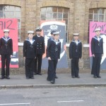 Chelmsford Sea Cadets on parade
