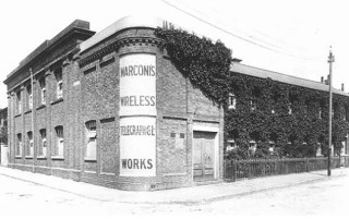 Hall St Works, Chelmsford, 1898