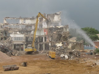 Marconi House was demolished in mid-afternoon on the 21st June 2013 - the end of an era.