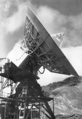 Completed earth station June 1967. Picture by Richard Raikes, company Publicity Manager.